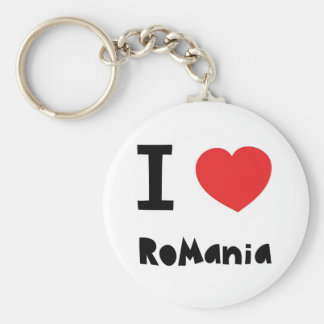I love Romania Key Ring