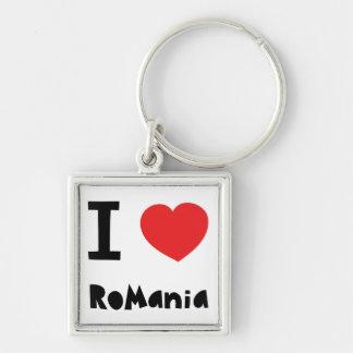 I love Romania Key Ring