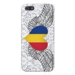 I Love Romania -wings iPhone 5 Cases