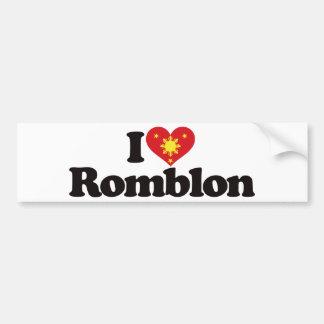 I Love Romblon Bumper Sticker