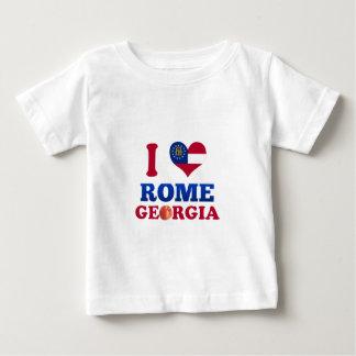 I Love Rome, Georgia Baby T-Shirt