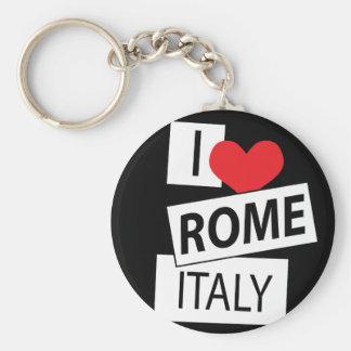 I Love Rome Italy Key Ring
