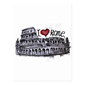 I love Rome Postcard