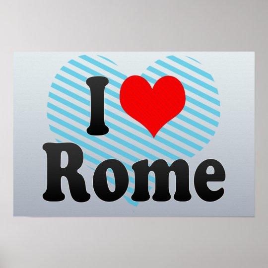 I Love Rome, United States Poster