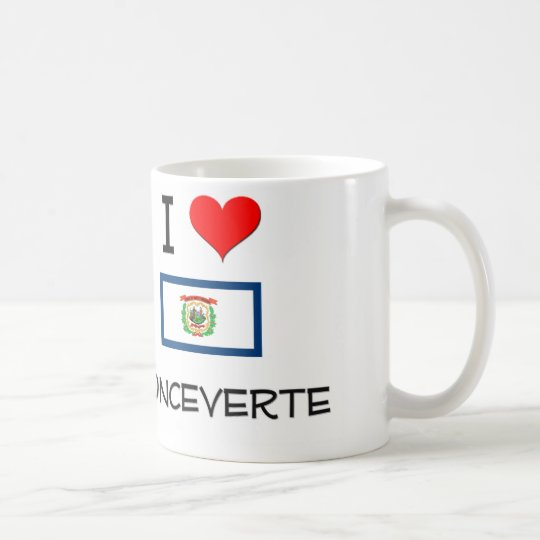 I Love Ronceverte West Virginia Coffee Mug