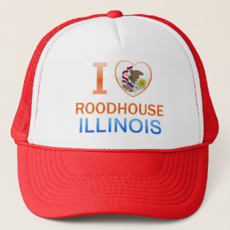 I Love Roodhouse, IL Trucker Hat