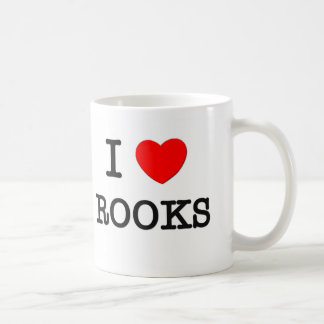 I Love Rooks Mugs
