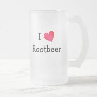 I Love Rootbeer Coffee Mugs