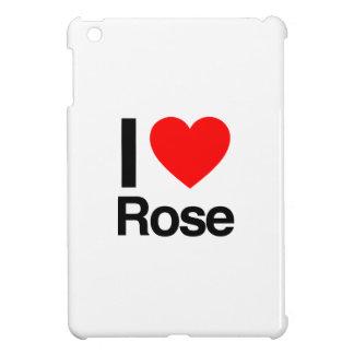 i love rose iPad mini cover