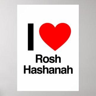 i love rosh hashanah posters