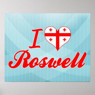 I Love Roswell, Georgia Print