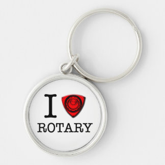 I love Rotary Engine Key Ring