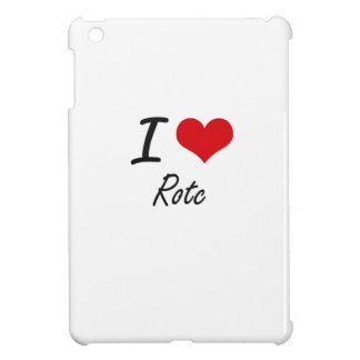 I Love Rotc Cover For The iPad Mini