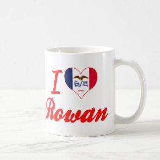 I Love Rowan, Iowa Basic White Mug