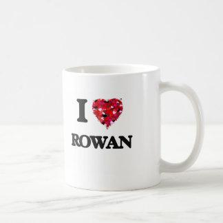 I Love Rowan Basic White Mug