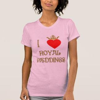 I Love Royal Weddings T-shirts, Mugs, Gifts T-Shirt