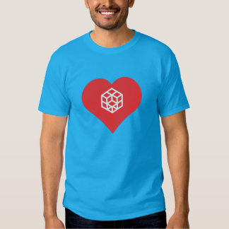 I Love Rubik'S Cube Cool Icon Shirts