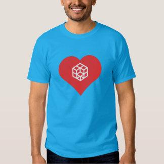 I Love Rubik'S Cube Cool Icon Shirts