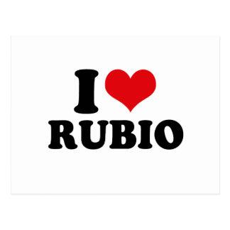 I LOVE RUBIO.png Postcard