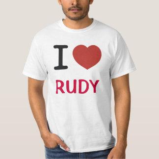 I Love Rudy T-Shirt