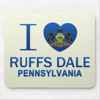 I Love Ruffs Dale, PA Mousepads