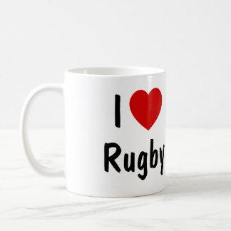 I Love Rugby Coffee Mug
