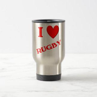 I Love Rugby Coffee Mugs