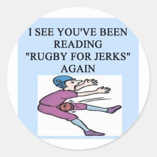 i love rugby sticker