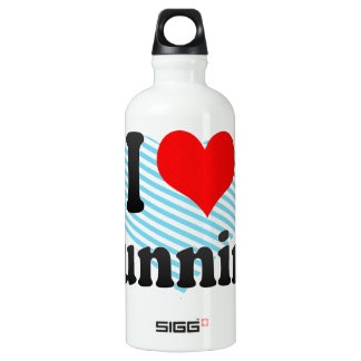 I love Running Water Bottle