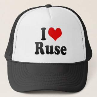 I Love Ruse, Bulgaria Trucker Hat