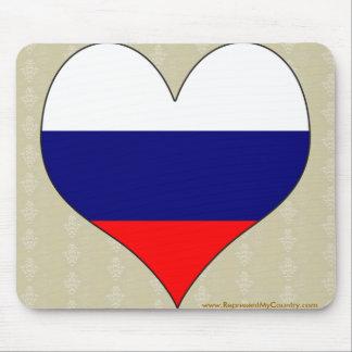 I Love Russia Mouse Pad