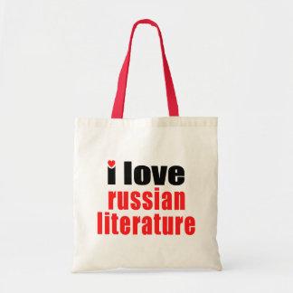 I Love Russian Literature Budget Tote Bag