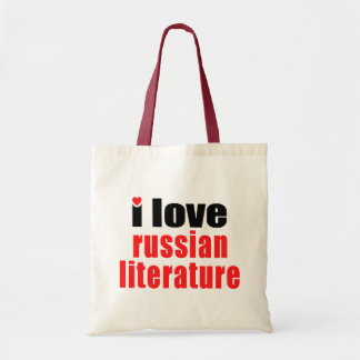 I Love Russian Literature Tote Bag