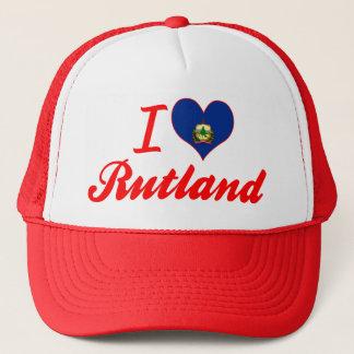 I Love Rutland, Vermont Trucker Hat