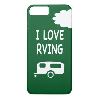 I Love RVing - Green iPhone 8 Plus/7 Plus Case