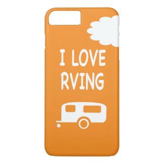 I Love RVng - Orange iPhone 8 Plus/7 Plus Case