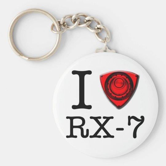 I love RX-7 keychain