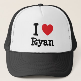 I love Ryan heart T-Shirt Trucker Hat