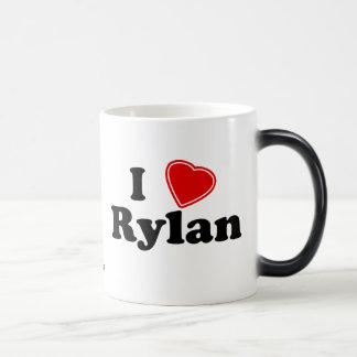 I Love Rylan Morphing Mug