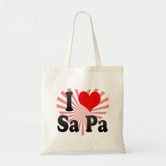 I Love Sa Pa, Viet Nam Budget Tote Bag