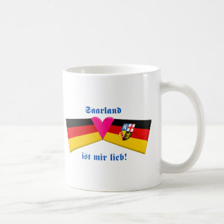 I Love Saarland ist mir lieb Mug