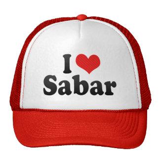 I Love Sabar Cap