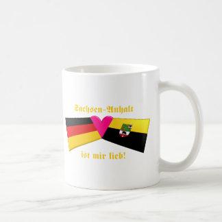 I Love Sachsen-Anhalt ist mir lieb Coffee Mug