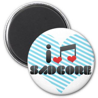 I Love Sadcore Magnet