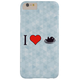 I Love Safety Barely There iPhone 6 Plus Case