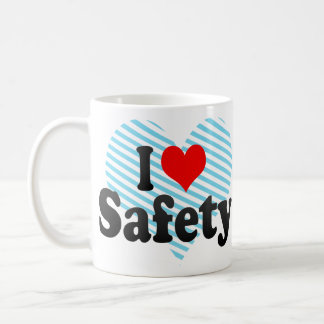 I love Safety Basic White Mug