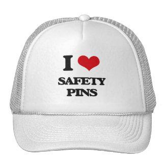 I Love Safety Pins Cap