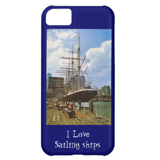 I love sailing ships iPhone 5C cover