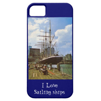 I love sailing ships iPhone 5 cover