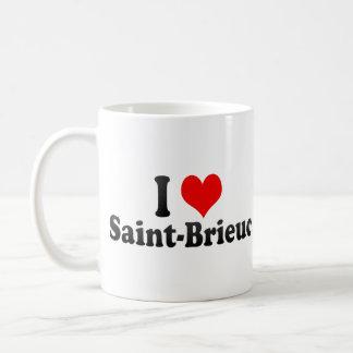 I Love Saint-Brieuc, France Mug